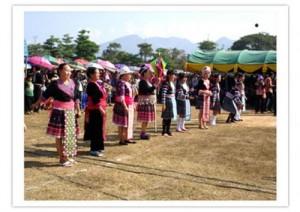 งานฉลองปีใหม่ชาวไทยภูเขาเผ่าม้ง จังหวัดเพชรบูรณ์