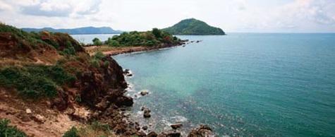 สถานที่ทางท่องเที่ยวอำเภอแหลมสิงห์-อำาเภอเมืองจันทบุรี-อำาเภอท่าใหม่-หาดคุ้งวิมาน