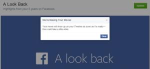 Facebook อนุญาตให้แก้ไข A Look Back ตามใจฉันได้แล้ว