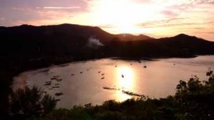 หาดทรายนํ้าใสทะเลสวย หาดท้องนายปาน เกาะพะงัน สุราษฏร์ธานี