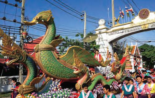 งานเทศกาลสงกรานต์ปากลัด (พระประแดง)