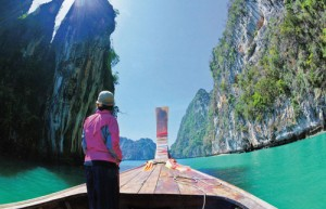 ล่องเรือหัวโทงไปเกาะลันตา