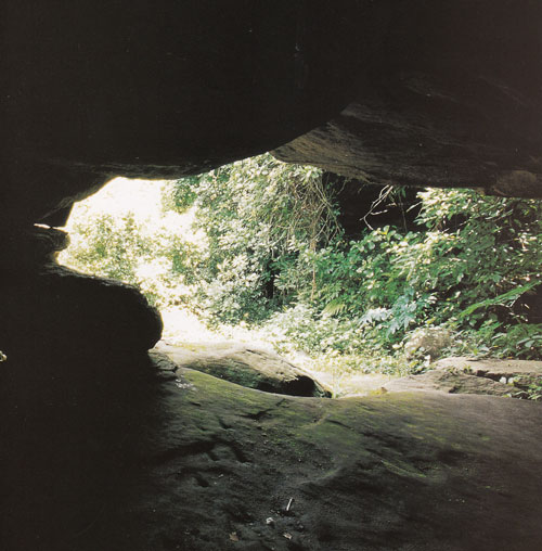 ถ้ำหลบภัยทางอากาศ อุทยานแห่งชาติภูหินร่องกล้า อำเภอนครไทย พิษณุโลก