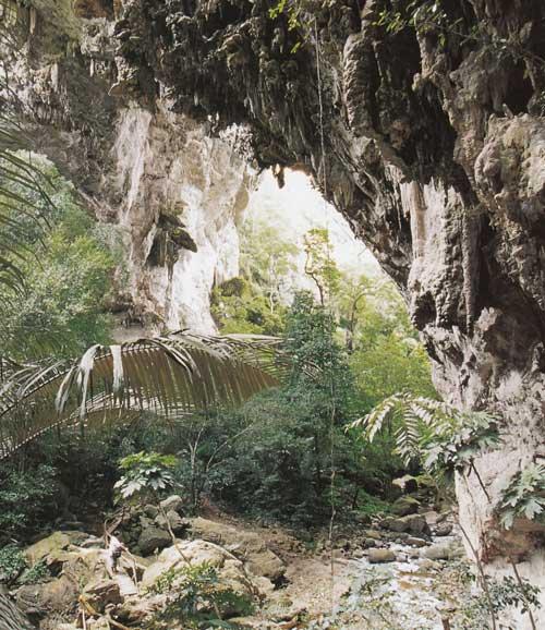 ถ้ำธารลอดใหญ่ อุทยานแห่งชาติเฉลิมรัตนโกสินทร์ กาญจนบุรี