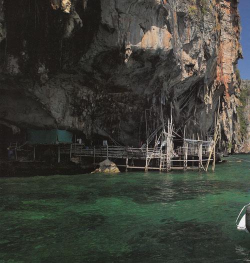ถ้ำไวกิ้ง เกาะพีพีเล จังหวัดกระบี่