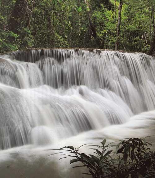น้ำตกภูเตย จังหวัดกาญจนบุรี