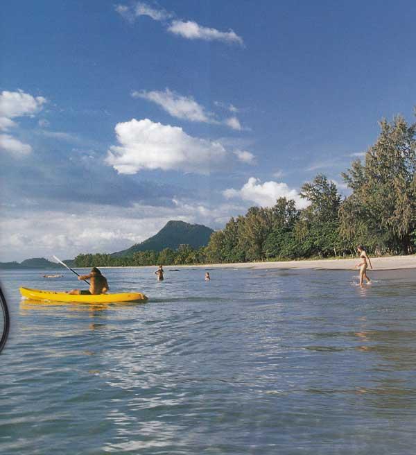 เกาะจัม พายคายัคชมหาดสวยคู่วิถีชีวิตชาวเล จังหวัดกระบี่