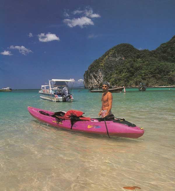 เกาะมุก พายคายัคท่องถ้ำมรกตหนึ่งเดียวในไทย จังหวัดตรัง