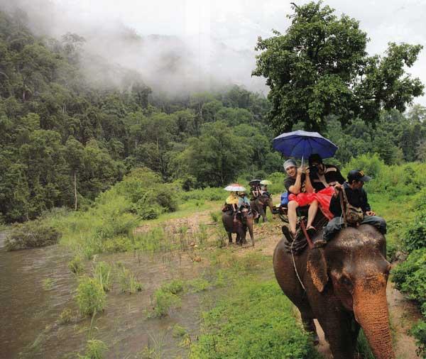 ข้อดีของการท่องเที่ยวหน้าฝน