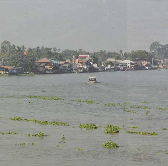 คลองขนมหวาน เกาะเกร็ด นนทบุรี