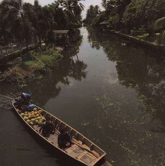 ล่องเรือคลองจินดา นครปฐม